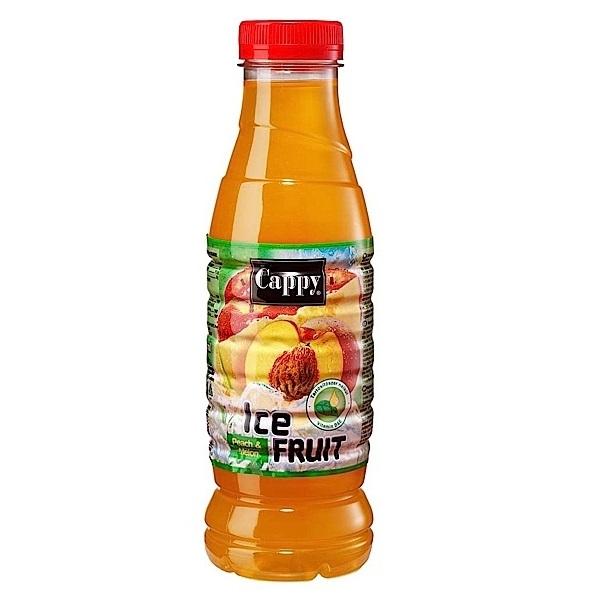 Cappy Ice Fruit Őszibarack-dinnye 0,5 l